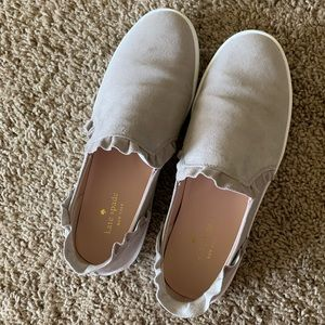 Kate Spade Ruffle Slip On Sneakers